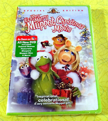 It's A Very Merry Muppet Christmas Movie  New DVD Movie  Holiday Special Edition