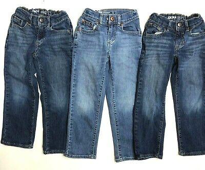 559ce902 Lot of 3 Jeans for Boys - Size 5 - Sonoma - Adjustable Waist - Straight