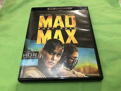 Mad Max Fury Road No 4K Ultra HD Only Blu-ray No Digital HD Code
