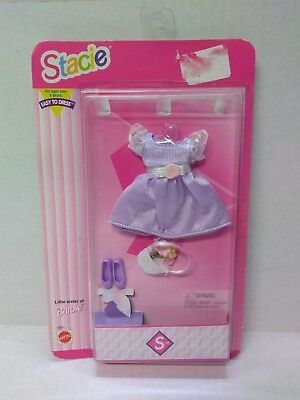 Mattel BARBIE Little Sister STACIE Springtime Fashion Dress GO IN STYLE FASHIONS