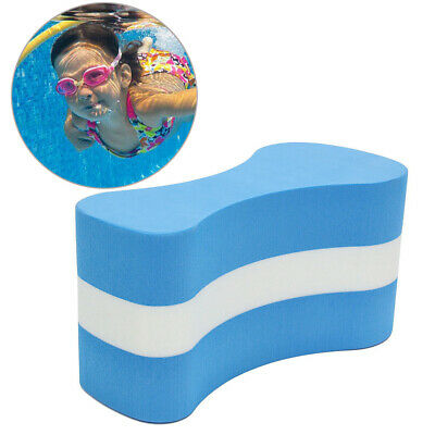 Kids Children Junior Swimming Aid Learning Training Foam Blue Pull Buoy