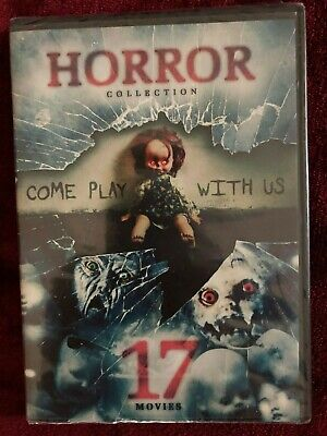Horror Collection 17 Movies Come Play with Us DVD 4-Disc Set BRAND NEW