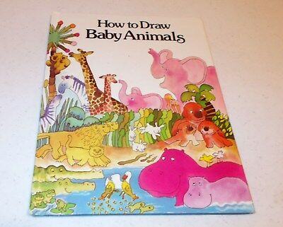 How to Draw Baby Animals by Susan Sonkin