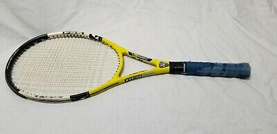 "FISCHER PRO EXTREME Air Carbon Ti Tennis Racquet-Mid Plus-95in-4 1/2"" Grip-Nice!"