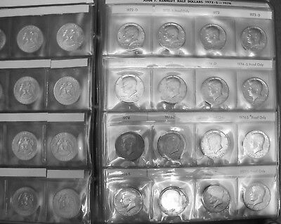 1964 to 2017 KENNEDY SET 179 PDS COINS BU & PROOF