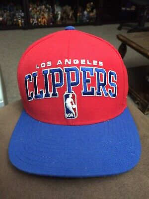 a891e52893a75 Los Angeles Clippers Nba Vintage Snapback Adidas 2-Tone Cap Hat New! Red