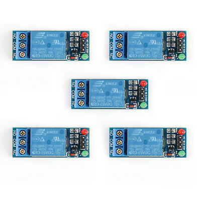 5xDC 1 Canales 5V Relay Rele Switch Modulo Para  Raspberry Pi PIC ARM AVR