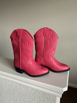 7525053dab7 NORDSTROM RACK YOUTH Girl s Mid Calf Pink Leather Pull UpBooties ...
