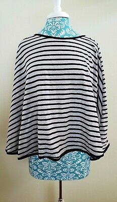 En Babies Nursing Cover gray black Striped
