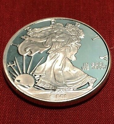 .999 Fine Silver - Liberty Walking Round - 1 Troy Oz - SMI Bought From APMEX
