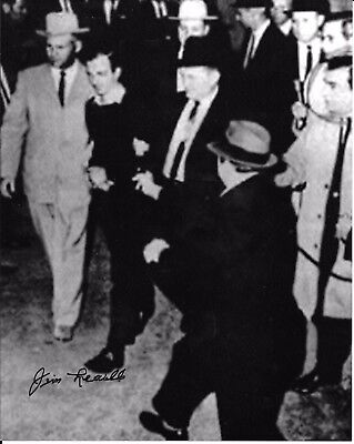 Jim Leavelle Dallas Policeman Handcuffed To  Oswald When Shot Rare Signed Photo