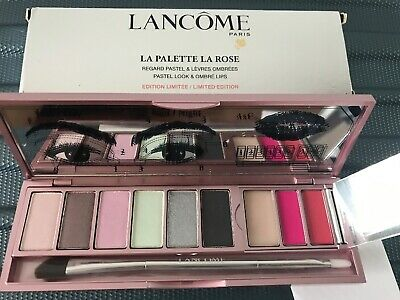 Lancome Paris LA PALETTE LA ROSE Pastel Look & Ombré Lips Eye & Lip Palette