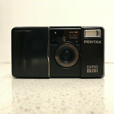 Pentax espio mini 35mm film point and shoot prime lens compact camera