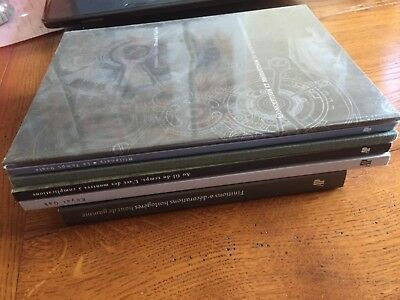 Lot 6 catalogues, ouvrages Horlogerie Audemars Piguet