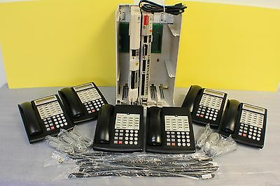 Lucent Avaya Partner ACS R6 Phone System w/ (6) 18D Telephones, VM, AA & More...