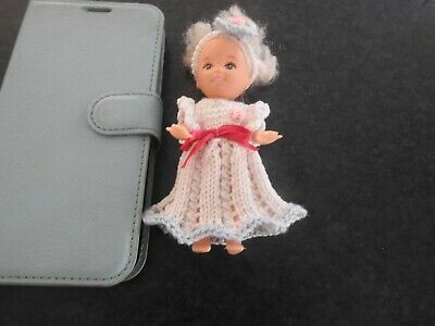 """Hand Knitted Doll's Clothes  10cm/4"""" doll"""