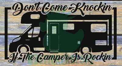 Dont Come Knockin If The Camper Is Rockin Fiat Motorhome Swift Peugeot Vw 1.9