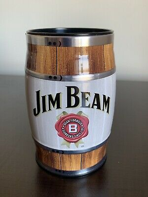 Jim Beam Barrel Shaped Money Box - Collectable
