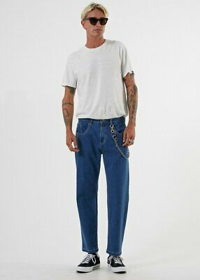 Afends men's relaxed fit denim jeans size 30