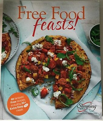 Slimming World Free Food Feasts Cookbook Food Optimising 60 Recipes NEW
