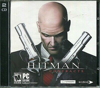 HITMAN  CONTRACTS PC GAME - 2CD Set