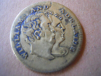 1817 William and Adelaide Wedding Medal