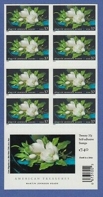 USA 2004 Martin Johnson Heade Mi.-Nr 3851 Folienblatt mit 20 Marken **
