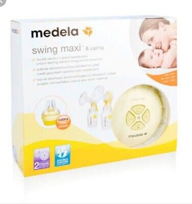 Medela swing maxi double electric breastpump As New