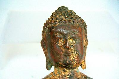 CHINESE MING DYNASTY BRONZE BUDDHA  Head  FIGURE .STATUE