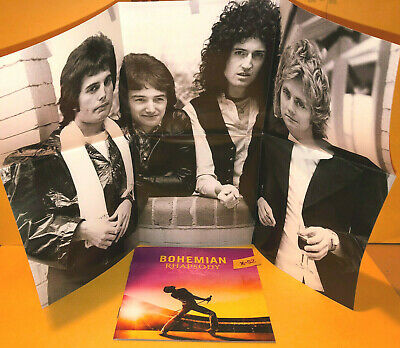 QUEEN BOHEMIAN RHAPSODY CD 2018 Target W/ COLLECTIBLE POSTER RARE