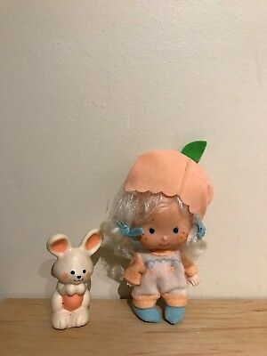 Vintage Strawberry Short Cake Apricot Doll and Hopsalot