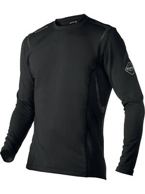 DANE Four Season Base Layer Long Sleeve Top Shirt Nano Bamboo Charcoal