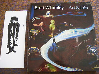 BRETT WHITELEY ART & LIFE by BARRY PEARCE 1ST ED HARDBACK AUSTRALIAN ART BOOK