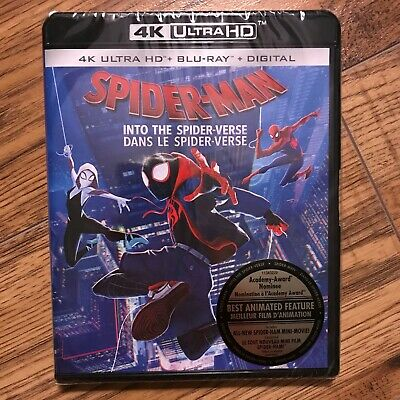 Spider-Man: Into the Spider-Verse (4K Ultra HD + Blu-ray + Digital, 2019)