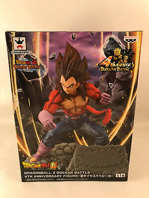 Dragon Ball Z Dokkan Battle 4th Anniversary Figure Super Saiyan Japanese anime