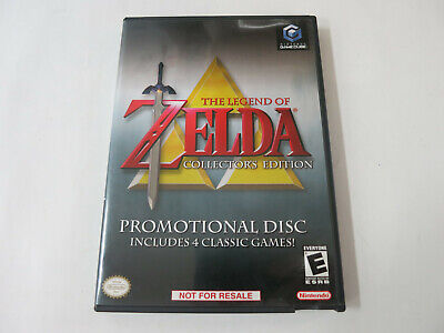 Legend of Zelda Collector's Edition (Nintendo GameCube, 2003) complete