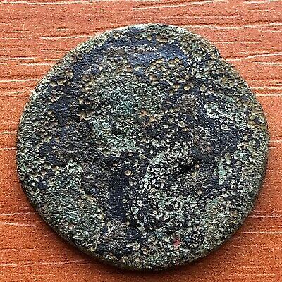 Roman Empire-Bronze Coin of Hadrian 117-138 AD AE As Ancient Roman Coin