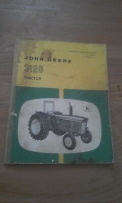 John Deere operators manual for 3120 tractor