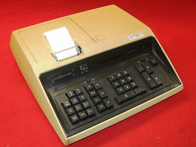 CALCOLATRICE LITTON MONROE 1350 del 1972 CALCULATOR VINTAGE