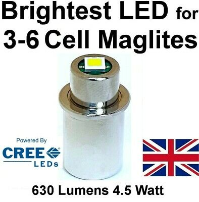 UpLED MAGLITE LED UPGRADE Conversion Bulb CREE CNC 2/3 D C cell Torch Flashlight