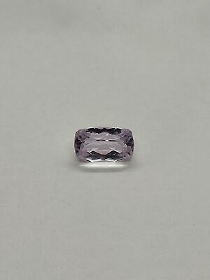 Faceted kunzite 5.8carats