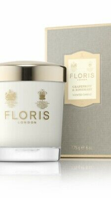 NEW Floris Grapefruit & Rosemary Scented Candle 175g