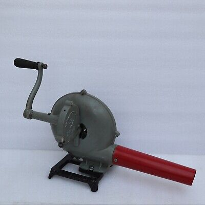 Blacksmith Forge Furnace With Hand Blower Vintage Style Pedal Type Handle
