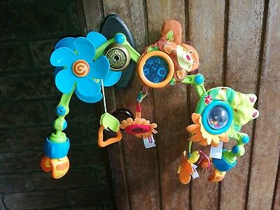 TINY LOVE Meadow Days Sunny Stroll Stroller Arch Baby Toy by TINY LOVE
