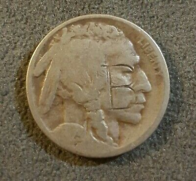 1923 USA Nickel Counter Marked Y & B