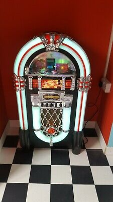 Auna Jukebox Bluetooth Stereo System FM Radio Tuner Machine CD Player