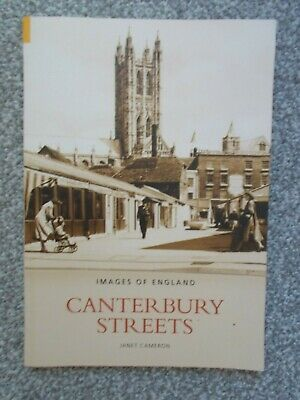 Canterbury Streets by Janet Cameron - Images of England - Paperback