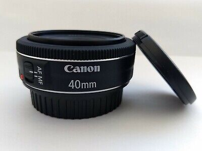 Canon EF 40 mm F/2.8 EF STM For Canon - Black
