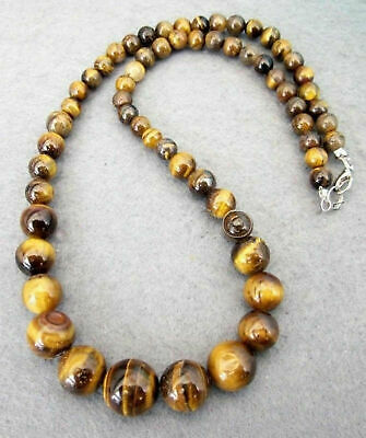 Charm AB  Yellow Tiger Eye Stone Gemstone Beads-- One Full Strand ---about 29Pieces--- 14mm 15.5 in length