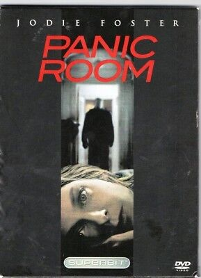 """PANIC ROOM"", Jodie Foster; a SUPERBITt DVD Disc Edition; A Thriller Film"